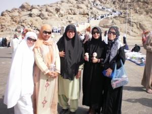 Di Jabal Rahmah di Arafah