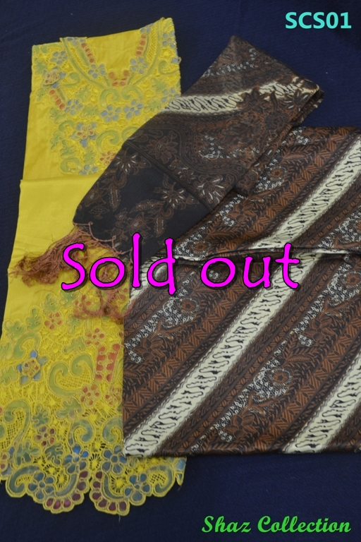 Jualan kain sulam fesyen terkini Bandung